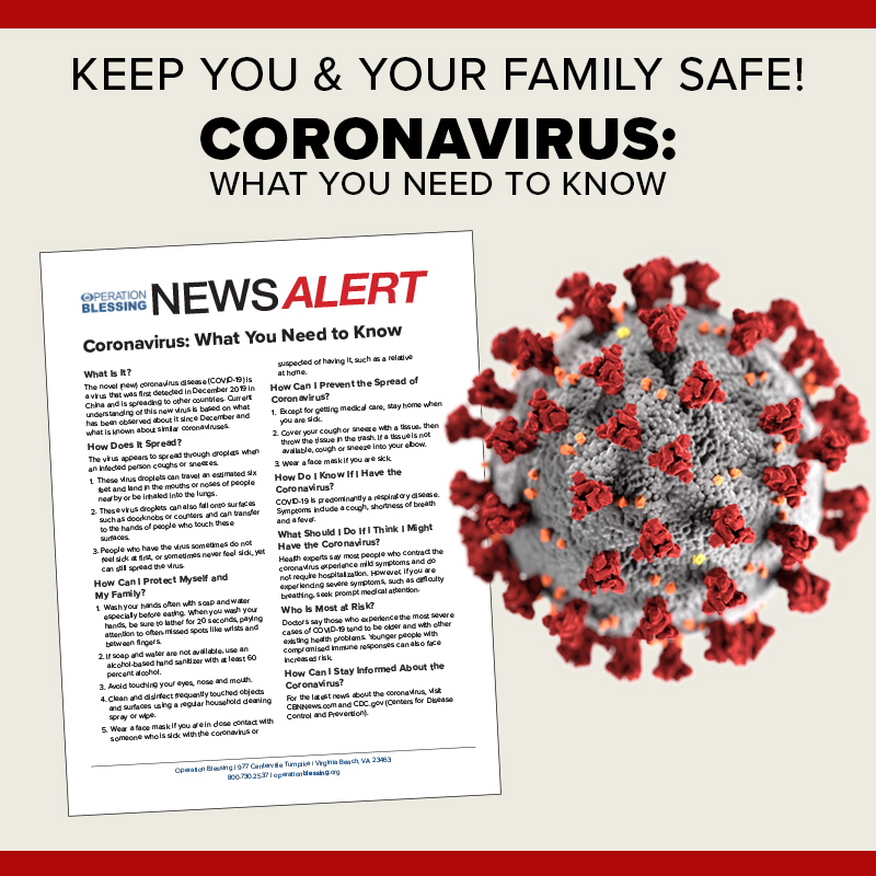 Coronavirus Fact Sheets